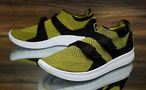 Nike Air Sockracer Flyknit Zapatos Yellow Strike 898022 700 hombres Zapatos Flyknit 1a6091