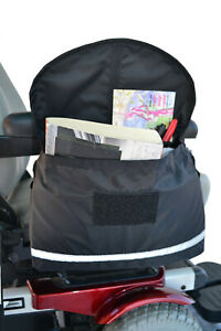 NEW-Power-Wheelchair-or-Scooter-Deluxe-Saddle-Armrest-Bag-by-Diestco-B2121