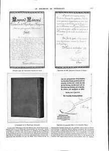 WWI-Document-de-Versailles-Signature-Poincare-Pichon-Ebert-amp-Bauer-ILLUSTRATION