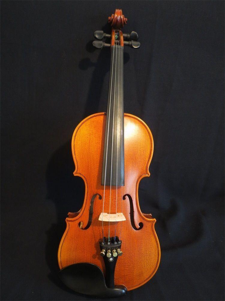 NUOVA fatto a mano violino, 1 2 misure, EUROPEO TONEWOOD, fiammato acero,