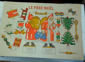 2-anciennes-planches-a-decouper-le-pere-Noel-Caravelles