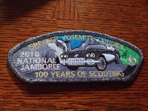 MINT 2010 JSP Greater Yosemite council Dark Gray Mylar Border Car