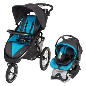 Baby Boy Jogger Stroller with Car Seat Blue Travel System ...