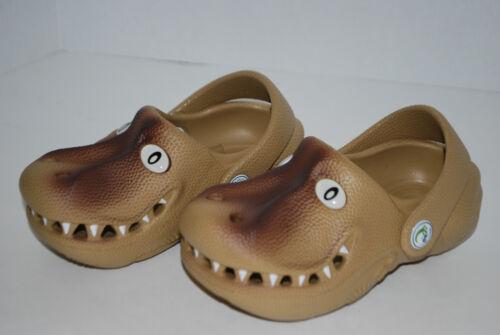 NEW POLLIWALKS T-REX DINOSAUR shoes clogs 3D sandals 5 6 7 8 9 10 11 12 kids