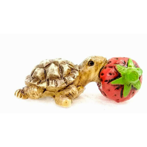 Miniature Dollhouse FAIRY GARDEN Accessories ~ The Wild Ones Tommy the Turtle
