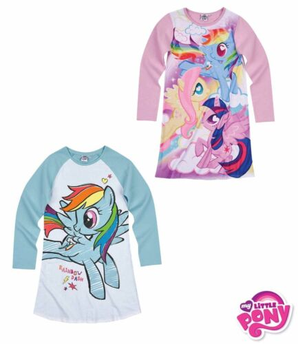 Girls My Little Pony Nightgown Nightdress 4-10Y OFFICIAL