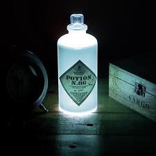 Harry Potter Potion N.86 Bottle Lampe, Deko Leuchte Farbwechsel Licht Nachtlicht