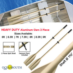 Heavy-Duty-Oars-Split-Shaft-with-Oar-Locks