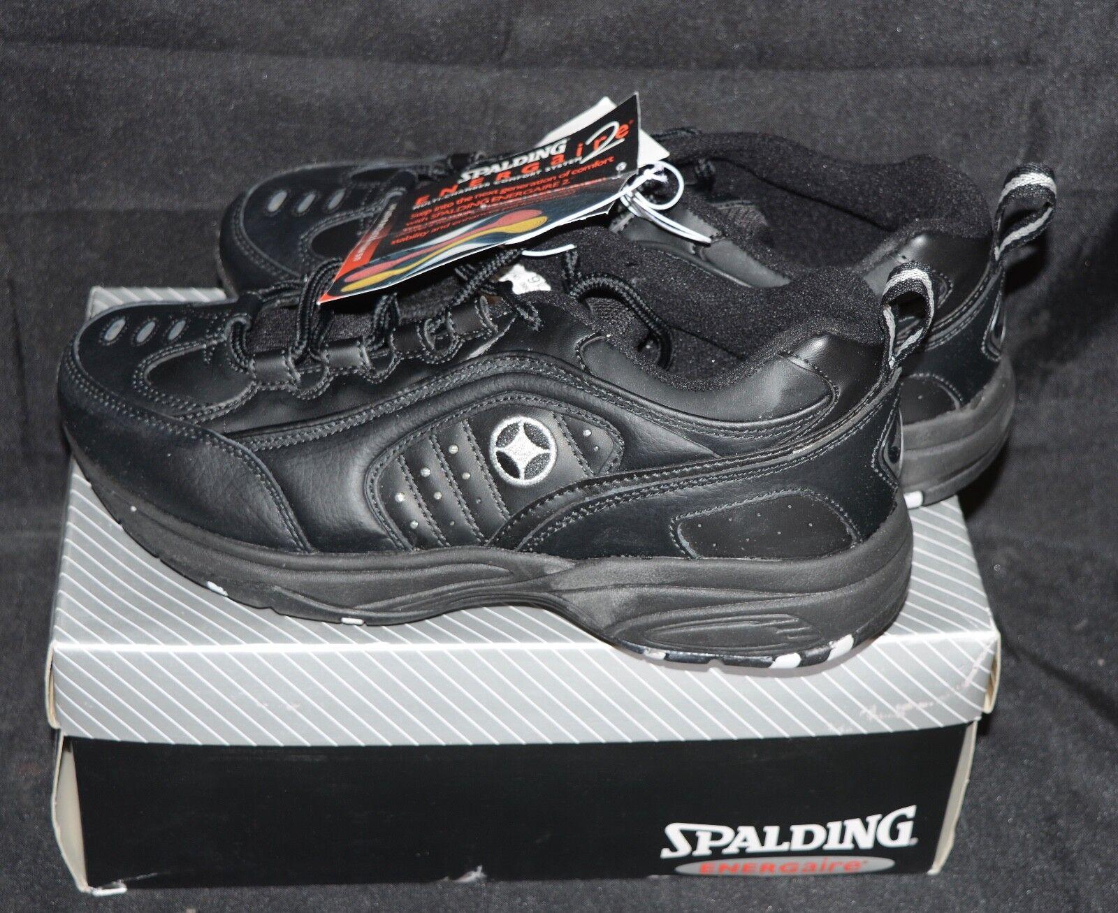 NOS VTG Spalding SPALD BENNETT White Mens shoes RARE      9.5