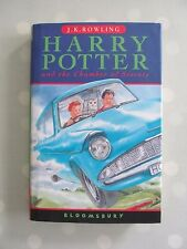 HARRY POTTER AND THE CHAMBER OF SECRETS BLOOMSBURY HARDBACK FIRST EDITION 28TH