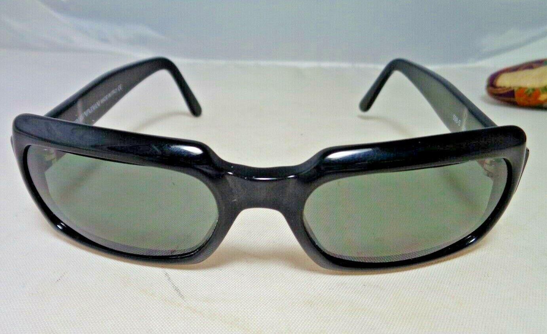 Emporio Armani Authentic Sunglasses EA 598-S 020 135 Black - Made in Italy - EUC