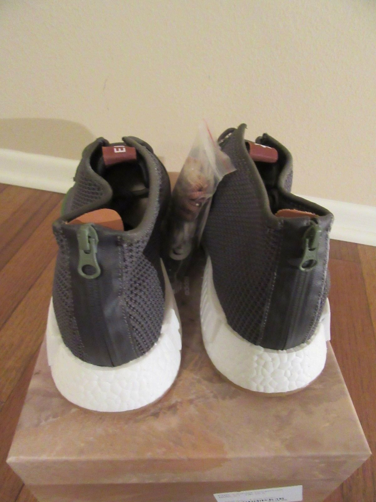 END x ADIDAS CONSORTIUM NMD_C1 Size 11.5 Earth Green Solid Green BB599324 DS NIB