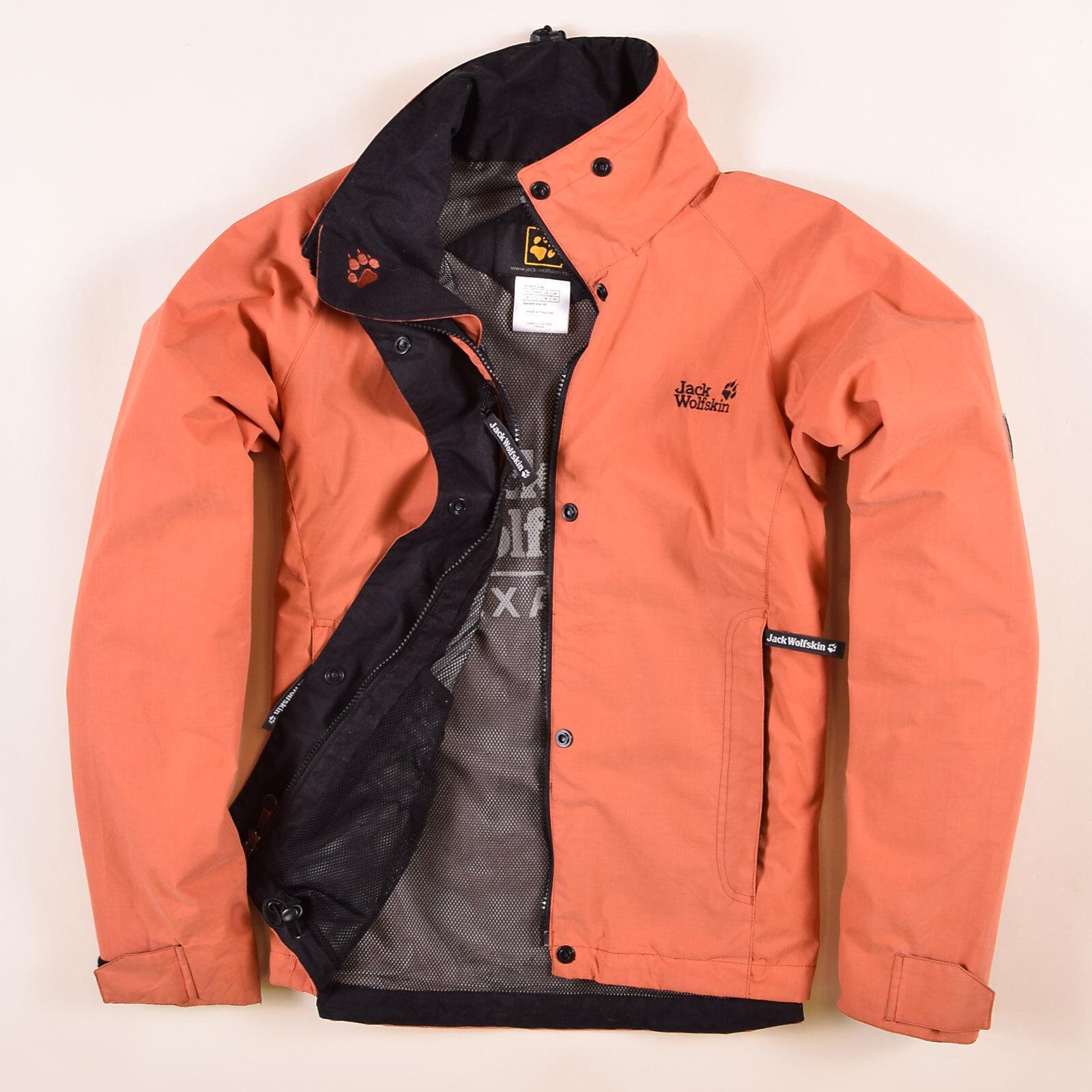Jack Wolfskin Damen Jacke Jacket Gr.40 Regenjacke Texapore Orange, 52270