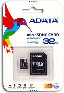 32GB-MicroSD-Micro-SD-Card-TF-Flash-Memory-Card-32-GB-G-32G-New-ADATA-Class-4