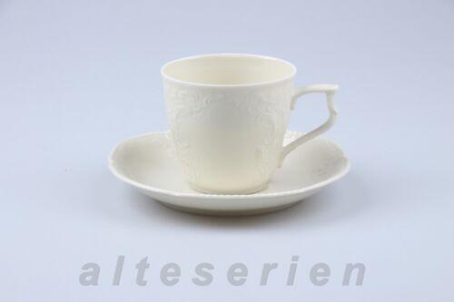 Tasse à café avec inférieure Rosenthal Sanssouci Ivoire Couleurs unicolore