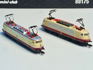 88175-Marklin-Z-scale-2each-TEE-Express-Locomotive-DB-Class-103-5-POLE-MOTORs