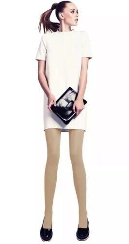 2-4-1 Offer My Sasi 100 Denier Fashion Tights Large Natural//Tan FREE P+P