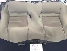 2013 Ford Mustang CONVERTIBLE OEM TAN CLOTH UPHOLSTERY REAR CUSHION COVER ONLY