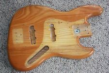 1974 1975 1976 Fender Jazz bass body natural original ash 6 lb 8 oz