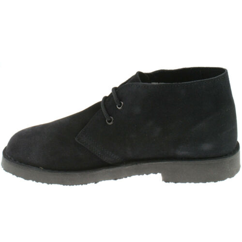 MENS ROAMERS SUEDE LEATHER DESERT BOOTS SIZE UK 3-15 CLASSIC ANKLE M467 KD