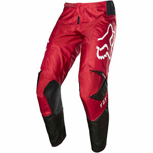 Fox Clothing Youth 180 Prix Motocross Pants Flame Red UK 24