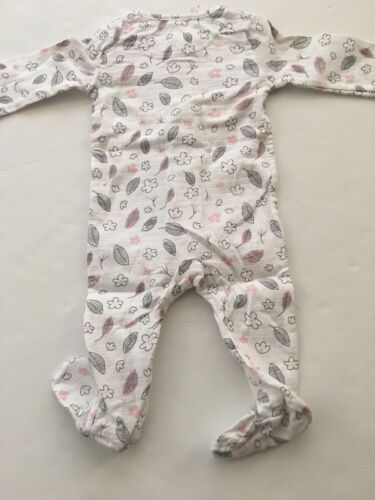 Aden by Aden /& Anais Baby Girl Muslin Coverall Sleeper Size 3-6 Months Floral