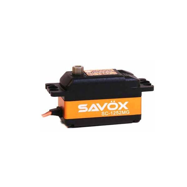Savox Low Profile 7KG Coreless Digital Servo SAV-SC1252MG