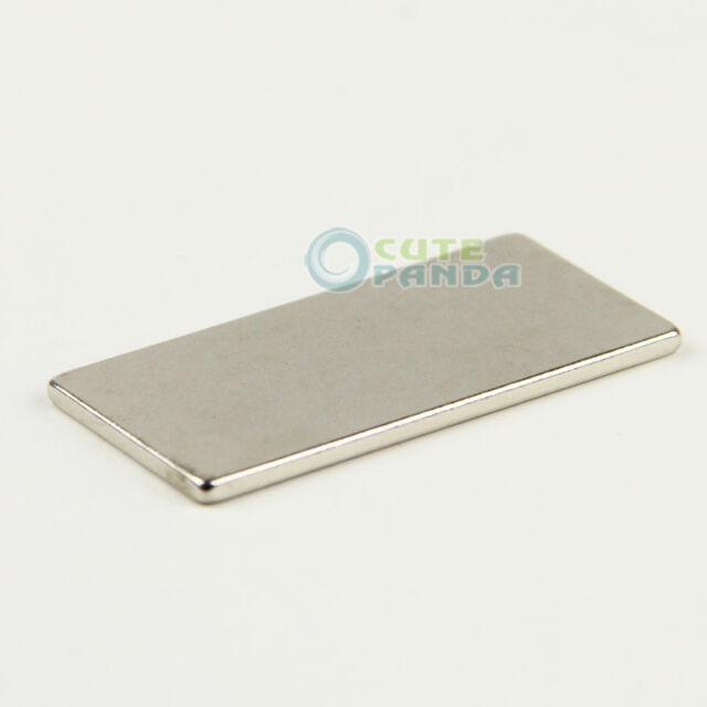 N35 Super strong Block Cuboid Magnets Rare Earth Neodymium 40 x 20 x 2 mm Magnet