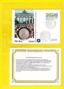 Numisbrief-Fuer-den-Sport-1991-Stiftung-Deutsche-Sporthilfe