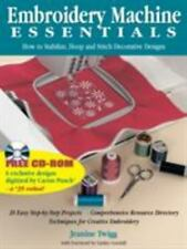 Embroidery Machine Essentials ~ How to Stabilize, Hoop and Stitch Decorative