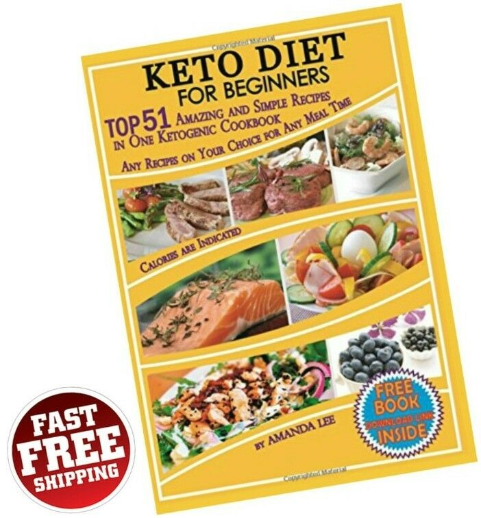 Keto Diet Recipes Beginners Ketogenic Cookbook Weight Loss Low Carb Food Dieting s l1600