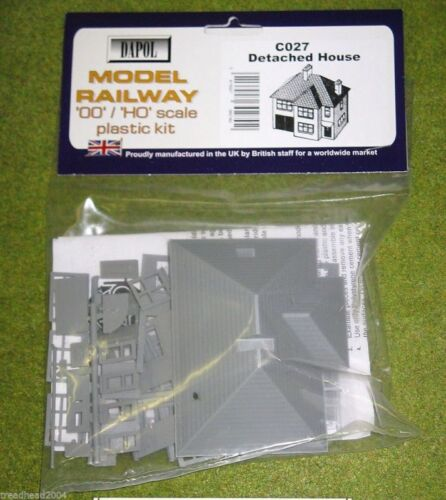 Dapol DETATCHED HOUSE 1//76 Scale scenery Kit 00//HO C27