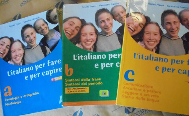 L' ITALIANO PER FARE E PER CAPIRE (3 VV senza QUAD.) - FRANZI DAMELE - ARCHIMEDE