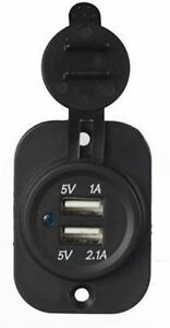 Advent-USBCHG1-Surface-or-Flush-Mount-Dual-Outlet-Universal-USB-Charger