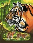 Reeves Painting by Numbers - Various Sets to Choose From Tiger Scene Pppnj39