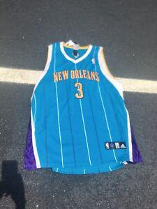 Mens Adidas Size 52 CHRIS PAUL New Orleans Hornets Jersey Authentic ... de7233cb3