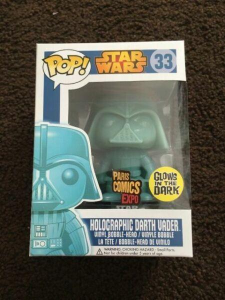 Funko Pop Star Wars Holographic Darth Vader Replacement Box CUSTOM