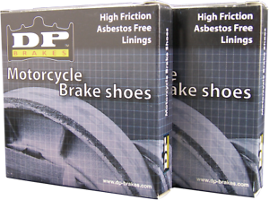 DP Brakes GF Friction Rated Rear Brake Shoes  9117