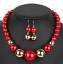 Women-Bohemian-Choker-Chunk-Crystal-Statement-Necklace-Wedding-Jewelry-Set thumbnail 119