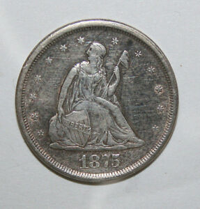 1875 S TWENTY CENT  KL