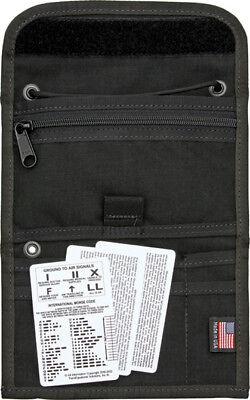 ESEE Passport Case Black ESPASSPORTBX Black nylon construction Features multipl