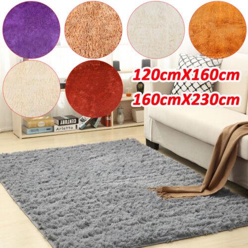 Shaggy Teppich Hochflor Langflor Teppiche Flokati in 7 Farben einfarbig uni DHL