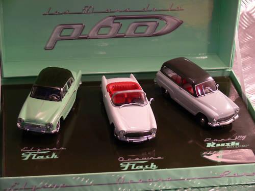 Set  50 years Simca p60, 1 43, Norev  en solde 70% de réduction