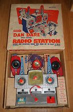 Vintage Merit Dan Dare Space Control Radio Station 1950's Boxed Rare Toy Set 403