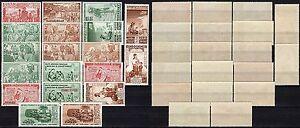 1238-Francia-colonie-Lotto-di-19-francobolli-Infanzia-Nuovi-MNH