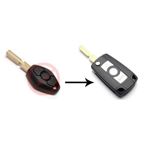 Klappschlüssel Funk Schlüssel für BMW MS03  3er 5er 6er 7er E46 E39 X5 E60  E53