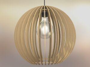 Lampadario Rustico Sospensione : Lampadario lampada sospensione paralume rustico moderno in legno