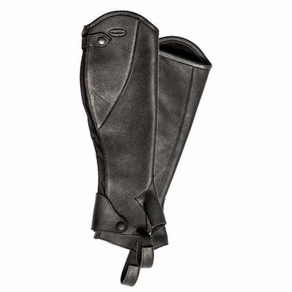 Euroriding Chaps Girona,schwarz, Länge 47,9 cm, Wade 38,2 cm ,XLC