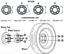 5x130 15mm 2 Pcs Wheel Spacers Fits Porsche 911 Boxster Panamera Cayman Cayenne