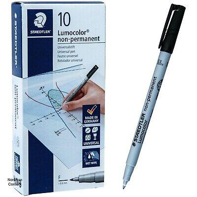 4 Pens Per Pack Lumocolor STAEDTLER Medium Permanent Marker 318 WP4 0.6mm